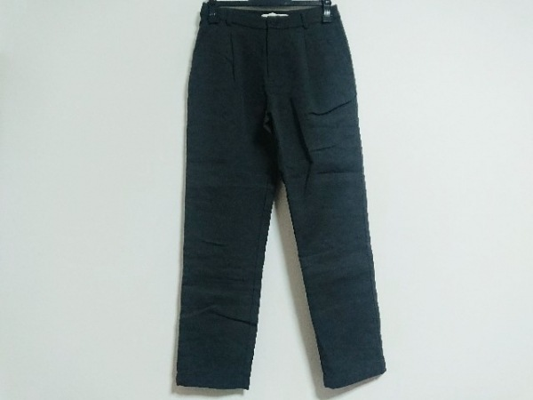 evam eva(エヴァムエヴァ) パンツ サイズ1 S レディース美品  ダークグレー