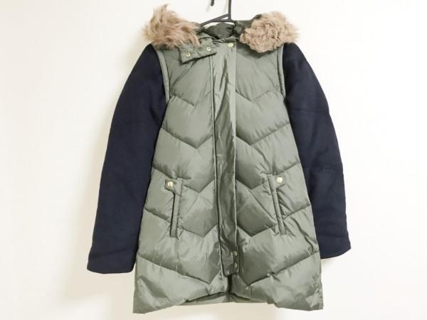 ミュラーオブヨシオクボ ダウンコート サイズ38 M レディース美品  ファー/冬物