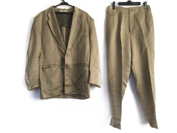 NICOLE(ニコル) シングルスーツ サイズM メンズ ダークグリーン 肩パッド