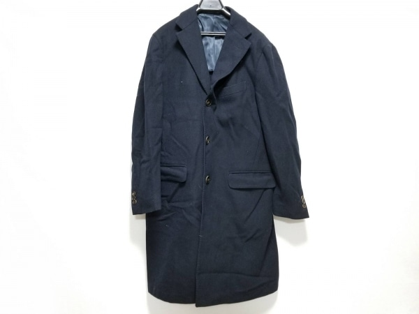BOGLIOLI(ボリオリ) コート サイズ46 S メンズ ネイビー 冬物