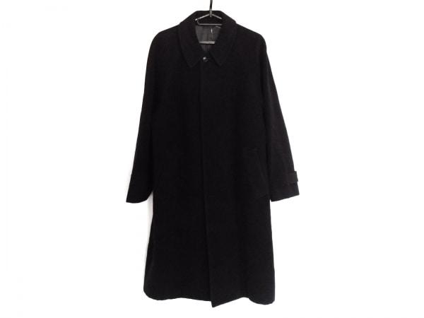 DURBAN(ダーバン) コート メンズ美品  黒 冬物/ネーム刺繍