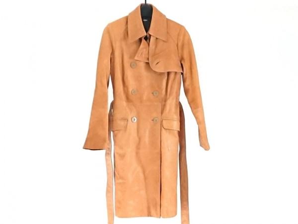 JON WEISER(ジョンウェザー) コート サイズ4 XL レディース ブラウン 冬物