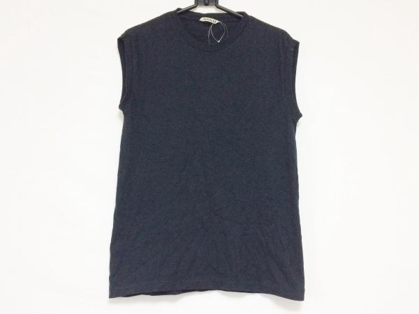 AURALEE(オーラリー) ノースリーブTシャツ サイズF レディース 黒
