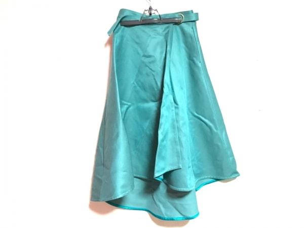 DRAWER.(ドロウアー) 巻きスカート レディース美品  グリーン