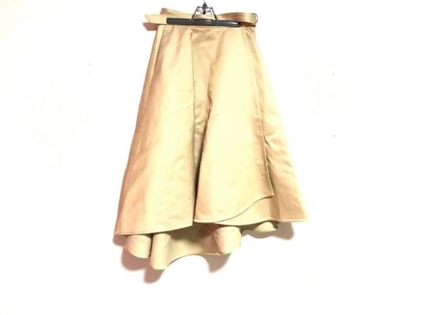 DRAWER.(ドロウアー) 巻きスカート レディース美品  ベージュ