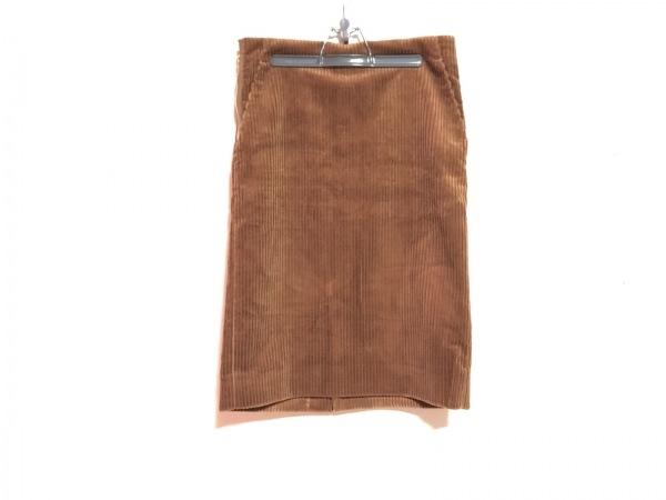 DRAWER.(ドロウアー) スカート レディース美品  ブラウン コーデュロイ