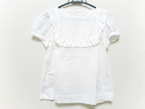 peu pres(プープレ) 半袖カットソー サイズF レディース 白