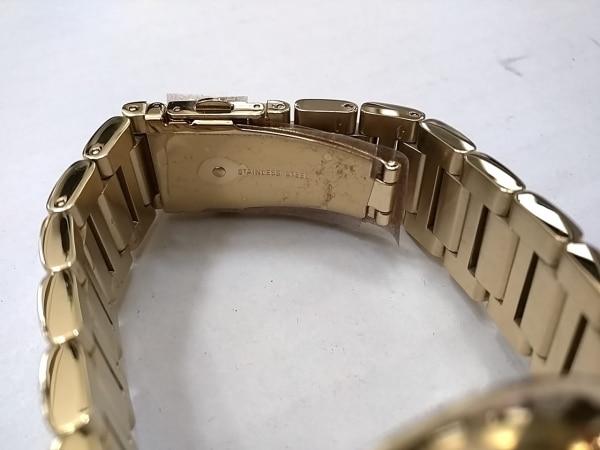 マイケルコース 腕時計美品  MK-5989 ボーイズ ラインストーン 黒 5