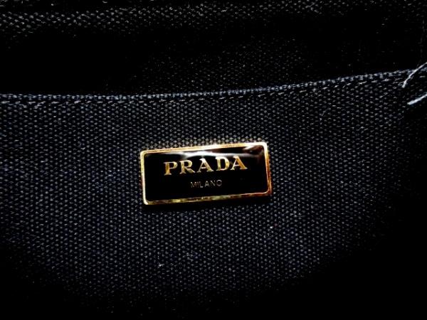 1ddb15664250 ... PRADA(プラダ) トートバッグ美品 - 黒×レッド 花柄/2014 ...