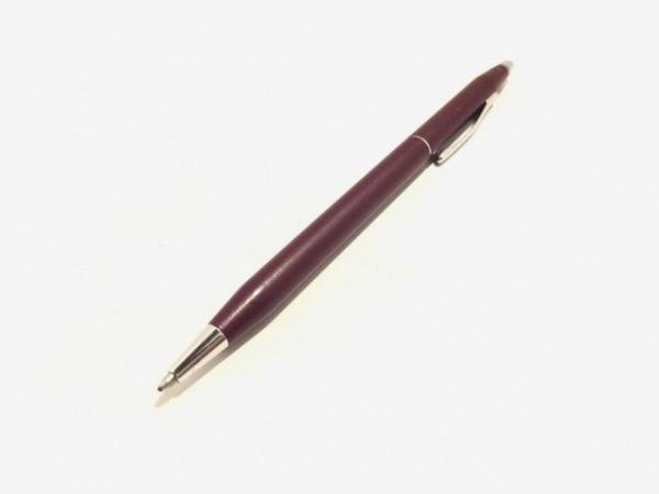 クロス. ボールペン美品  ダークブラウン×シルバー×黒 インクあり(黒) 金属素材