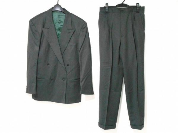 VERSUS(ヴェルサス) ダブルスーツ メンズ美品  ダークグレー