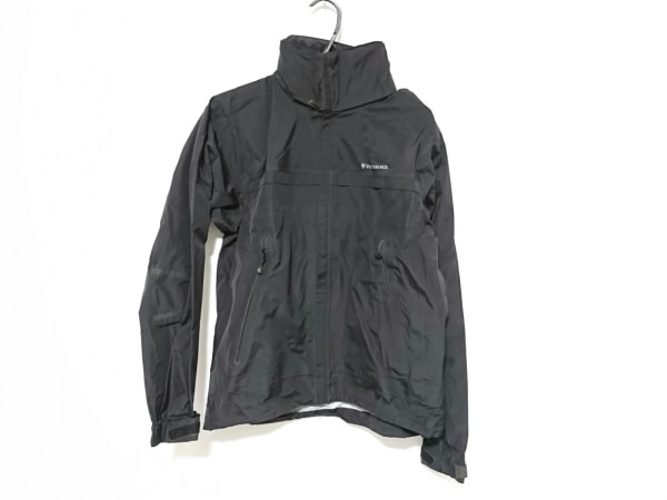 ヴィクトリノックス ブルゾン サイズS メンズ美品  黒×ライトグレー 春・秋物