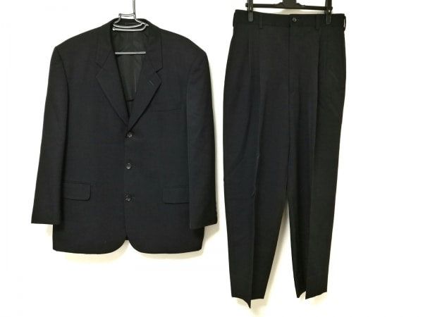 COMMEdesGARCONS HOMME(コムデギャルソンオム) シングルスーツ メンズ ダークネイビー