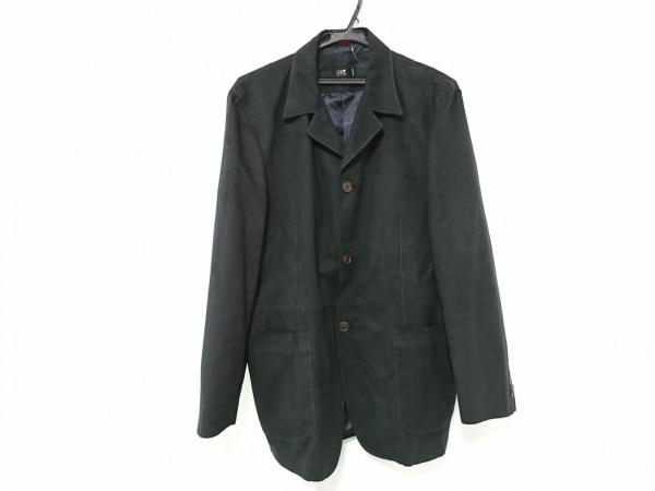 23区 HOMME(ニジュウサンク オム) ジャケット サイズ50 メンズ 黒