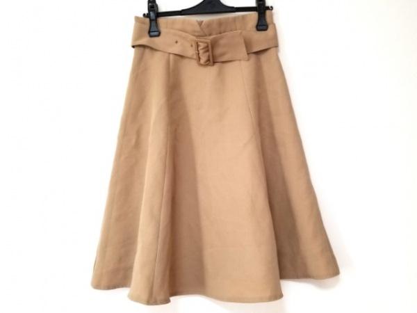 アプワイザーリッシェ スカート サイズ2 M レディース美品  ベージュ