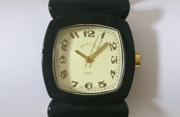 TIME WILL TELL(タイムウィルテル) 腕時計 レディース ブレスウォッチ アイボリー