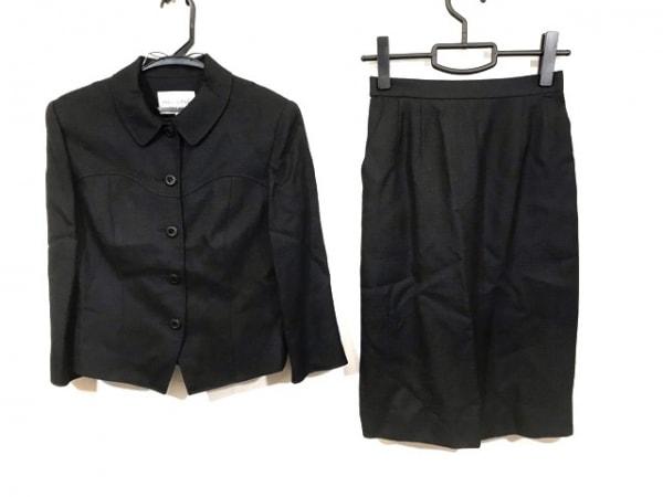 miss ashida(ミスアシダ) スカートスーツ サイズ9 M レディース 黒 肩パッド