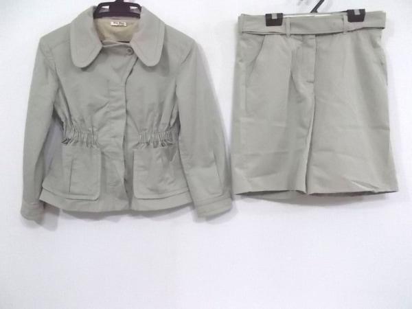 miumiu(ミュウミュウ) レディースパンツスーツ サイズ36 S レディース ライトグレー