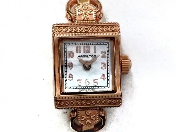 ハミルトン 腕時計美品  アメリカン クラシック レディ ヴィンテージ H312410