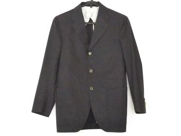 フランコプリンツィバァリー ジャケット サイズ44 L メンズ ダークブラウン