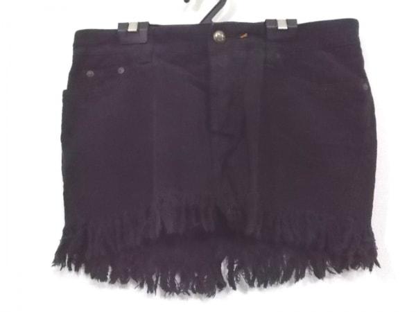ハリウッドトレーディングカンパニー ミニスカート サイズ26 S レディース美品  黒
