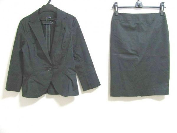 Le souk(ルスーク) スカートスーツ レディース 黒