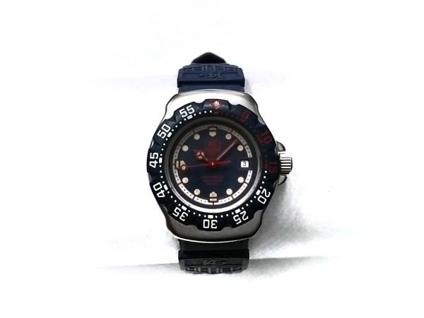 タグホイヤー 腕時計 フォーミュラー1 WA1410 レディース ラバーベルト ネイビー