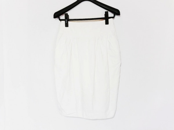 MARNI(マルニ) スカート サイズ38 S レディース 白 チェック柄