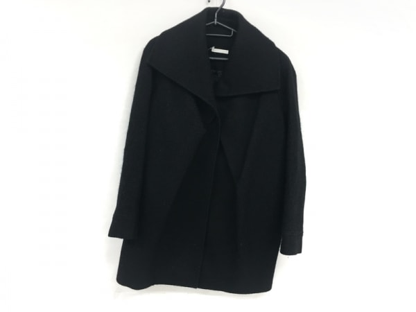 Commuun(コムーン) コート サイズ38 M レディース 黒 冬物