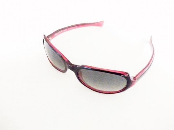 alain mikli(アラン・ミクリ) サングラス 5676 黒×レッド プラスチック