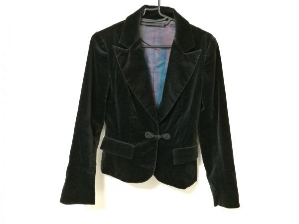 VIVIENNE TAM(ヴィヴィアンタム) ジャケット レディース 黒 ベロア