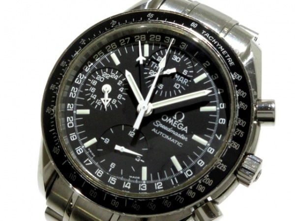 OMEGA(オメガ) 腕時計 スピードマスター マーク40 3520.50 メンズ 黒