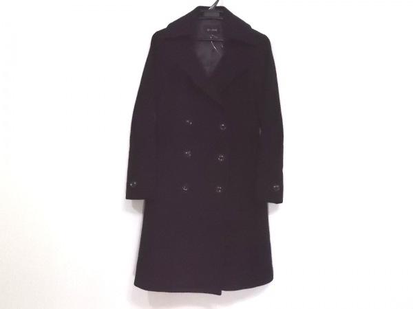 Le souk(ルスーク) コート サイズ38 M レディース新品同様  黒 冬物