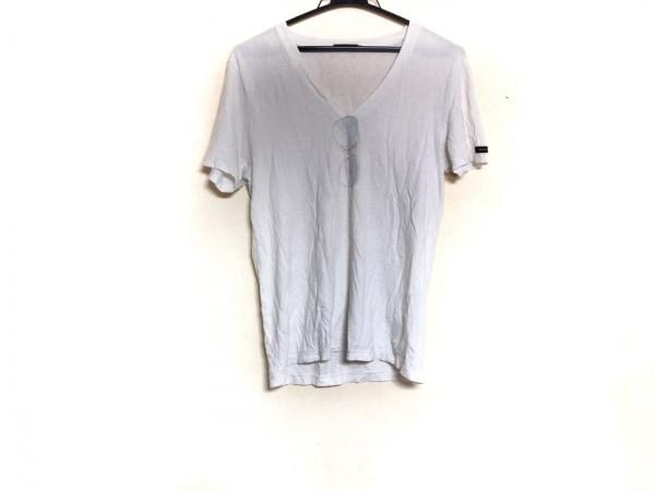 LOVELESS(ラブレス) 半袖カットソー サイズ1 S メンズ 白×マルチ