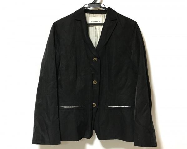 io comme io(イオコムイオ センソユニコ) ジャケット サイズ38 M レディース 黒