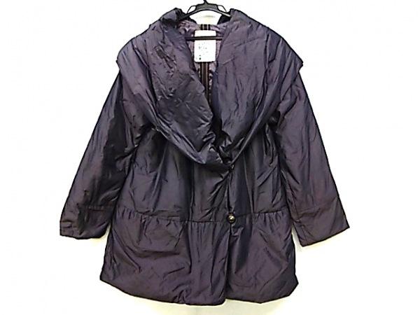 イオコムイオ センソユニコ ダウンコート サイズ38 M レディース美品  ダークブラウン