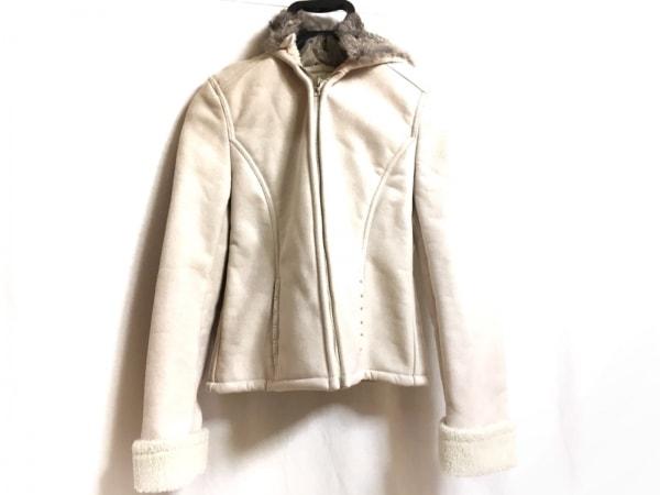 Xmiss(キスミス) コート サイズ37 レディース ライトグレー 冬物