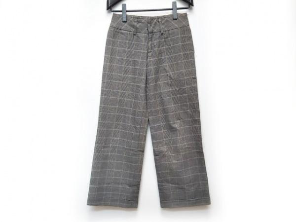 フルカウント パンツ サイズ1 S レディース美品  ベージュ×ダークネイビー×マルチ