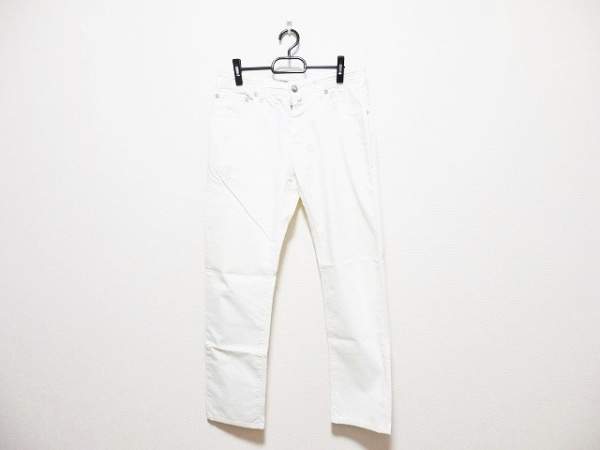 JACOB COHEN(ヤコブコーエン) パンツ サイズ33 メンズ アイボリー