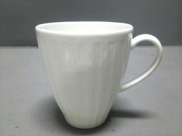 WEDG WOOD(ウェッジウッド) マグカップ新品同様  NIGHT&DAY 白 陶器