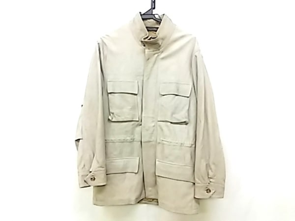 インターナショナルギャラリービームス コート サイズ46 XL メンズ ベージュ
