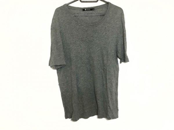 TbyALEXANDER WANG(アレキサンダーワン) 半袖Tシャツ メンズ新品同様  グレー