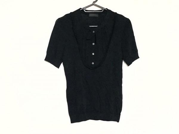 コムデギャルソンシャツ 半袖Tシャツ サイズS メンズ新品同様  ネイビー×グレー