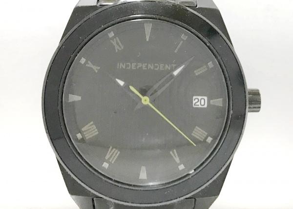 INDEPENDENT(インディペンデント) 腕時計 GN-4-S メンズ 黒