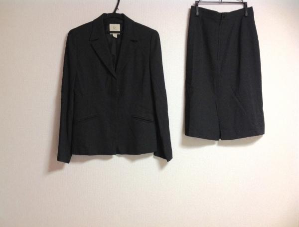 組曲 KUMIKYOKU(クミキョク) スカートスーツ レディース グレー