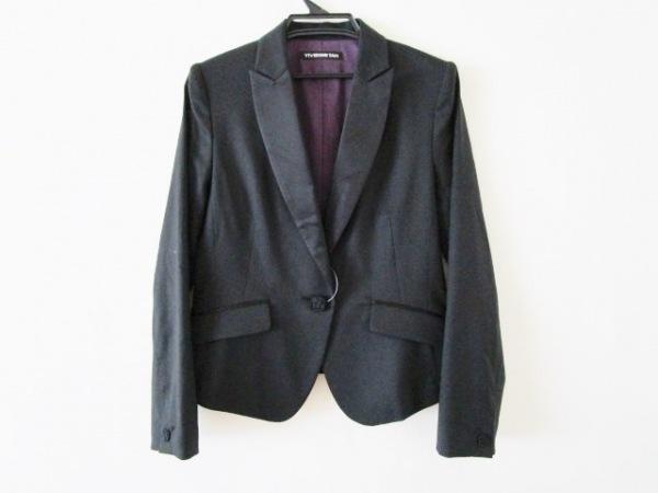 VIVIENNE TAM(ヴィヴィアンタム) ジャケット サイズ1 S レディース 黒