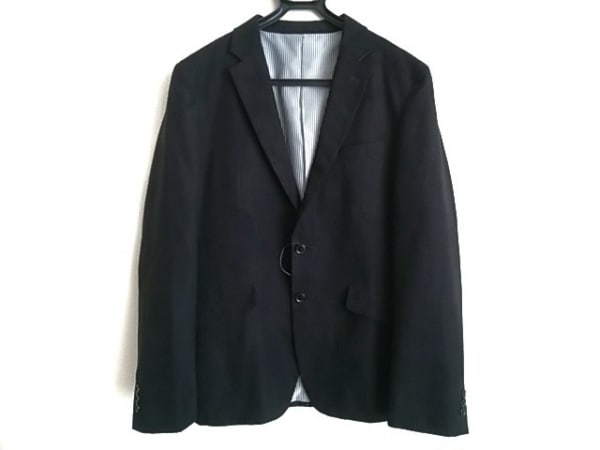 TAKEOKIKUCHI(タケオキクチ) ジャケット サイズ3 L メンズ 黒 チェック柄