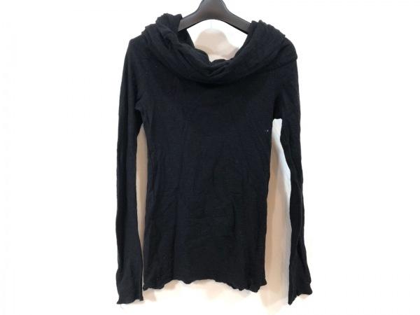 MIKI MIALY(ミキミアリー) 長袖セーター サイズ36 S レディース美品  黒