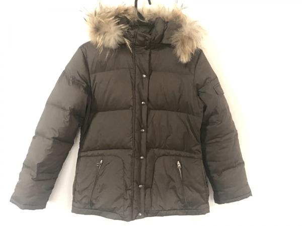 CROCODILE(クロコダイル) ダウンジャケット サイズM レディース ダークブラウン 冬物
