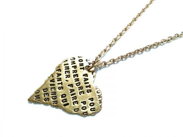 SERGE THORAVAL(セルジュ トラヴァル) ネックレス 金属素材 ゴールド ハート